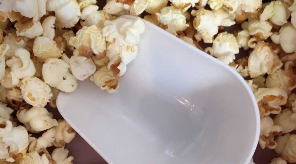 Popcorn at shared office space in Battersea