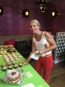 Battersea co-workers get stuck into a charity bake sale