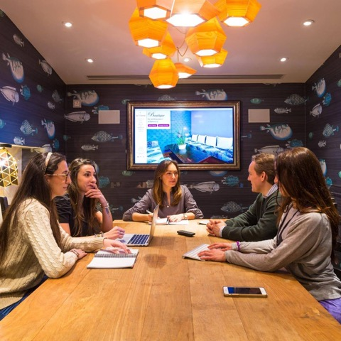 Wellbeing in co working office | Wandsworth