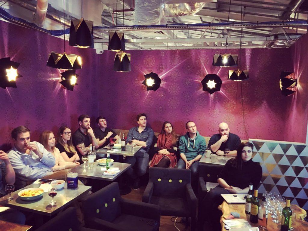 A close co-worker community in Battersea
