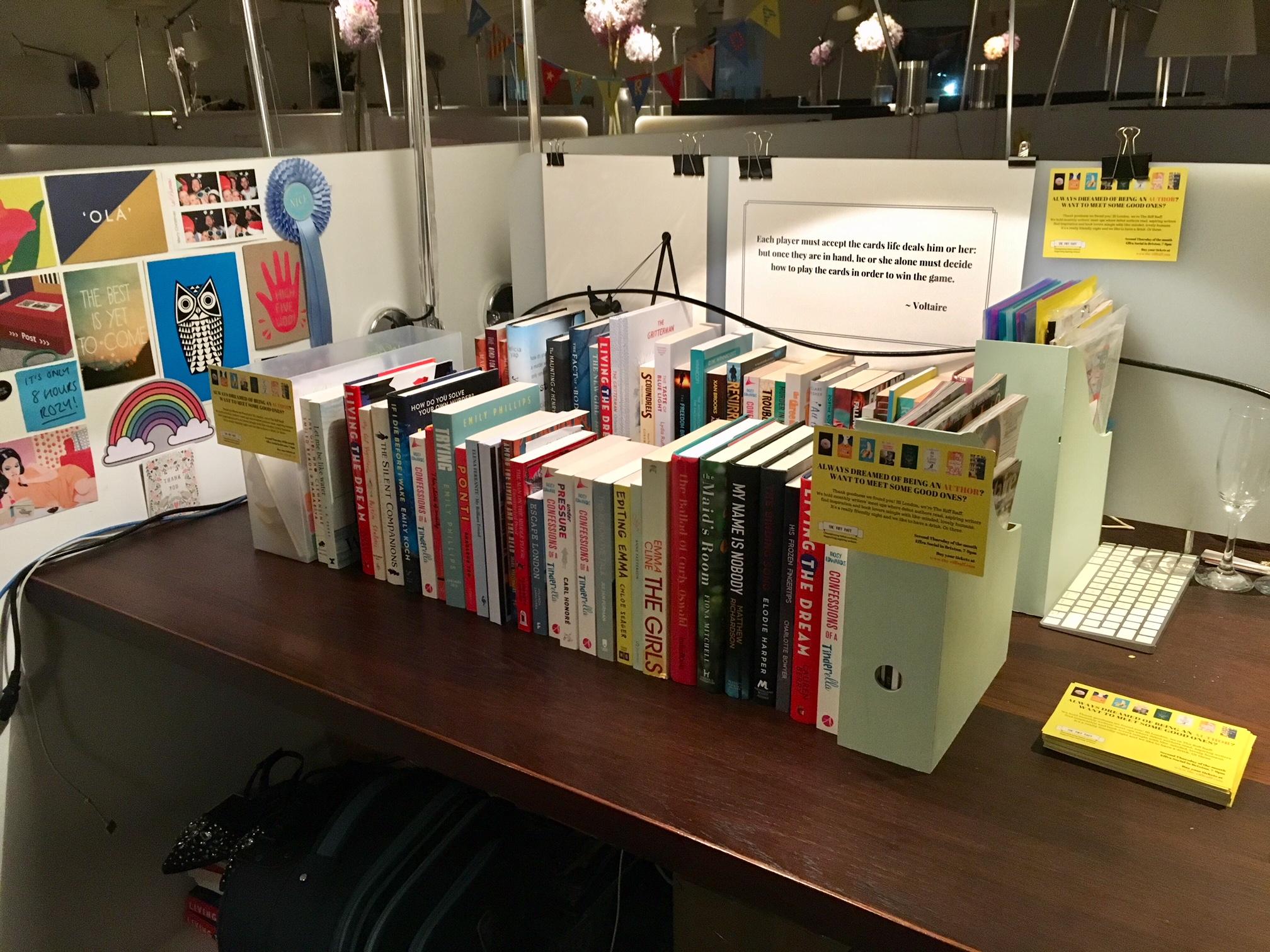 The Le Bureau shared office library